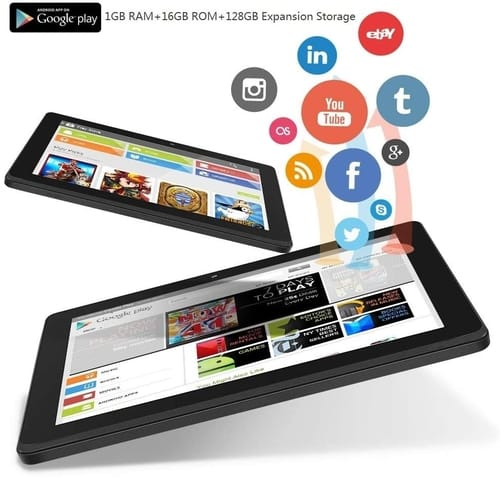 Review ZONKO oogle Android 10.0 Quad Core 7 inch Tablet