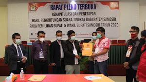 Dugaan Pemalsuan Dokumen, Kuasa Hukum Rapberjuang Laporkan KPU Samosir ke Poldasu