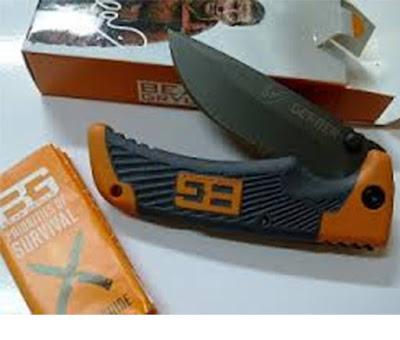 pisau lipat gerber asli
