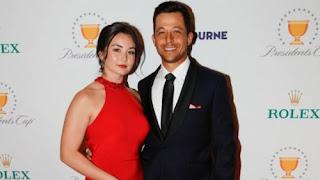 Xander Schauffele With His Girlfriend Maya Lowe