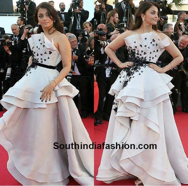 Aishwarya Rai Stuns At Cannes 2015 South India Fashion