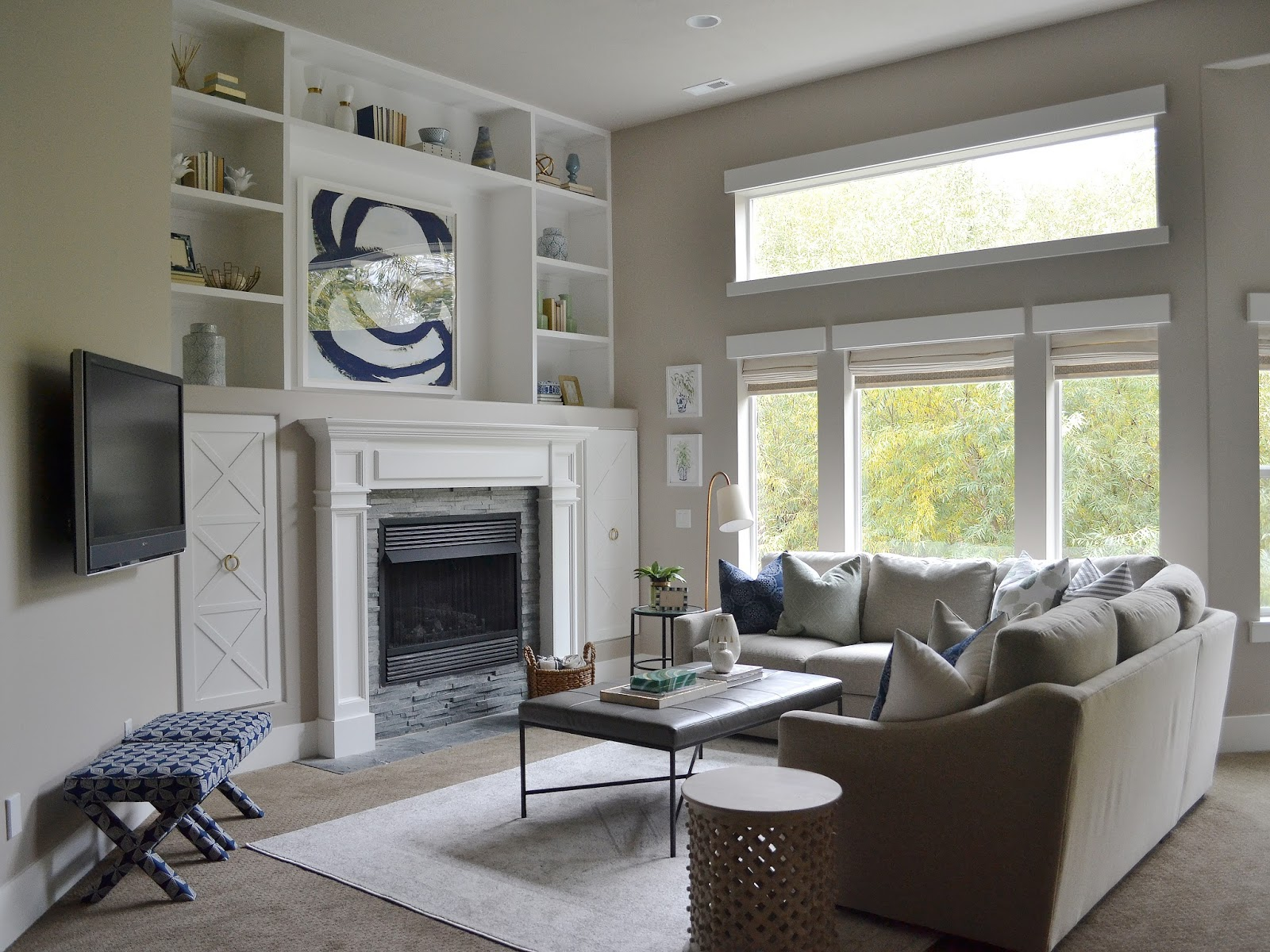 Sita Montgomery Interiors My Home Basement Makeover