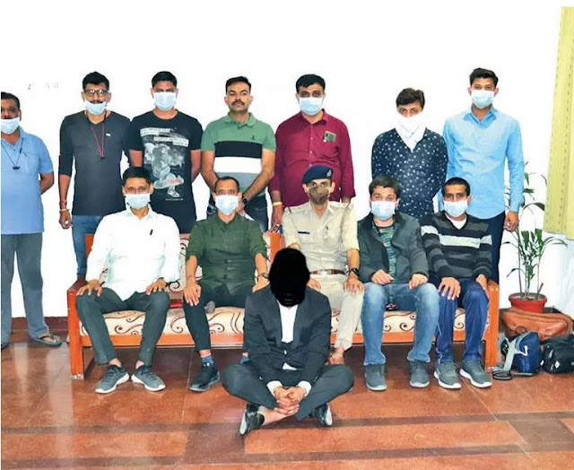 Nigerian Man Arrested In India For Duping A 70-year-old Man with the sum of N5M