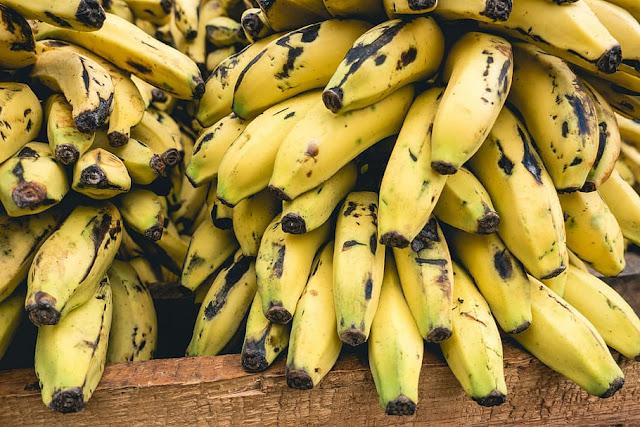 ilustrasi pisang yang baik untuk diet