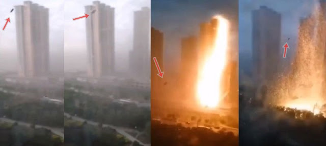 Power Line being hit by lightning in China or was it a UFO?  Lightning-ufo-weather-control-china%2B%25281%2529