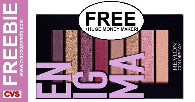 FREE Revlon Eye Shadow CVS Deal 1/12-1/18