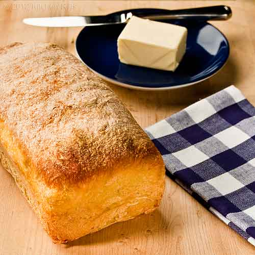 Easy No-Knead Homemade Bread
