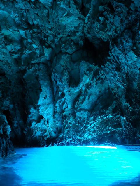 Blue Cave, Bisevo, Dalmatian Coast Islands, Croatia