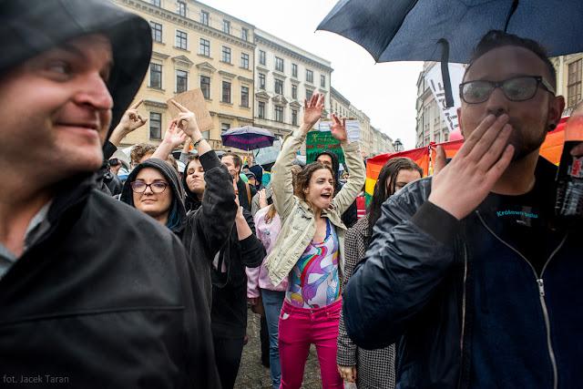 Marsz Równości - Kraków 2017, fot. Jacek Taran
