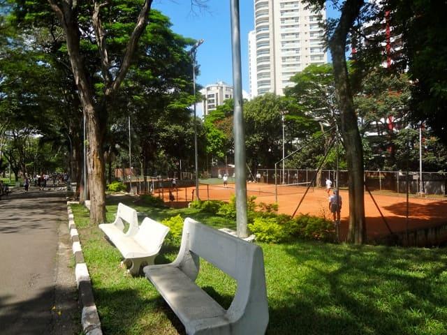 Parque Ceret - Quadras de Tênis de saibro