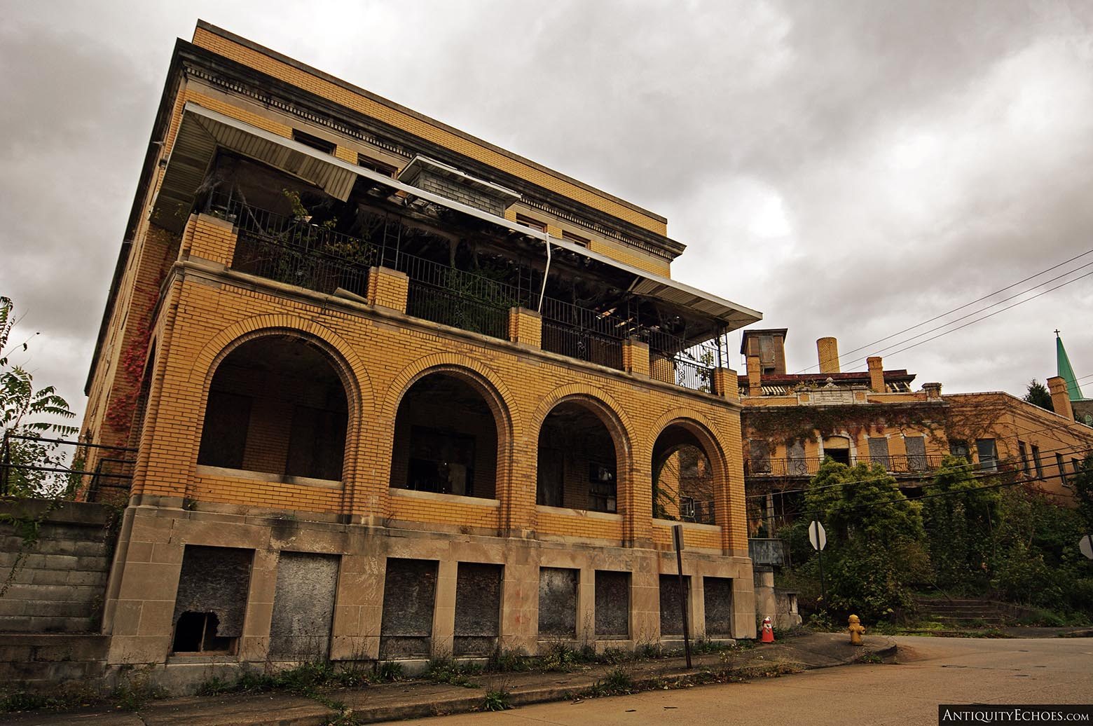 Brownsville General Hospital - Nurses' Home from Street