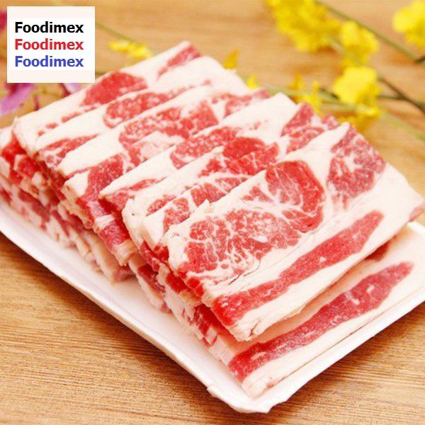Ba chỉ bò mỹ Foodimex