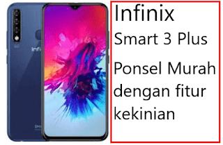 Harga dan Spesifikasi Infinix Smart 3 Plus