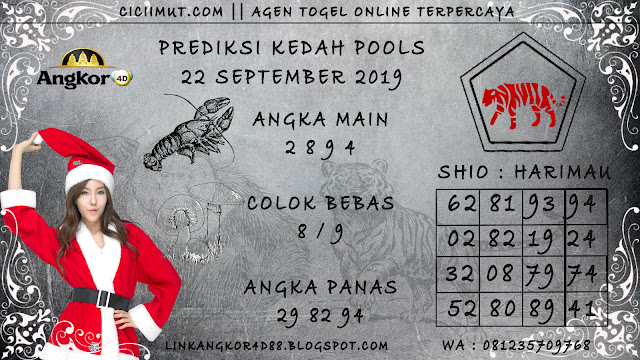 PREDIKSI KEDAH POOLS 22 SEPTEMBER 2019
