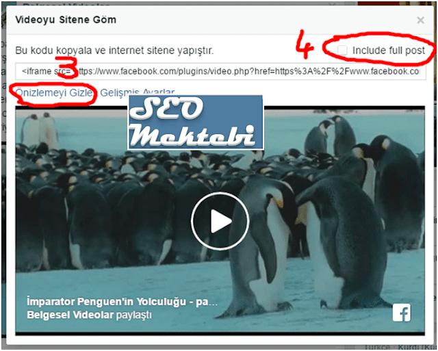 Blogger Sayfalarına Facebook Videolarını Ekleme
