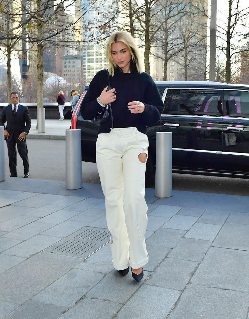 Dua Lipa  Heading to a Meeting in New York 15 Jan-2020