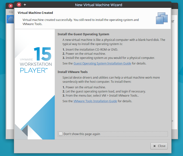 vmvare-player-install-OS6