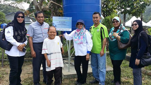 Program CSR PPUiTM bersama MASTI dan PPUMS - Projek Pembinaan Telaga Tiub Kota Belud, Sabah