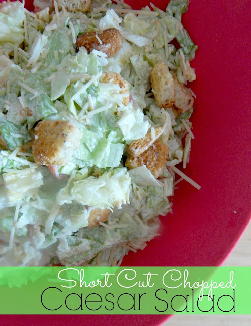 short cut chopped caesar salad (sweetandsavoryfood.com)