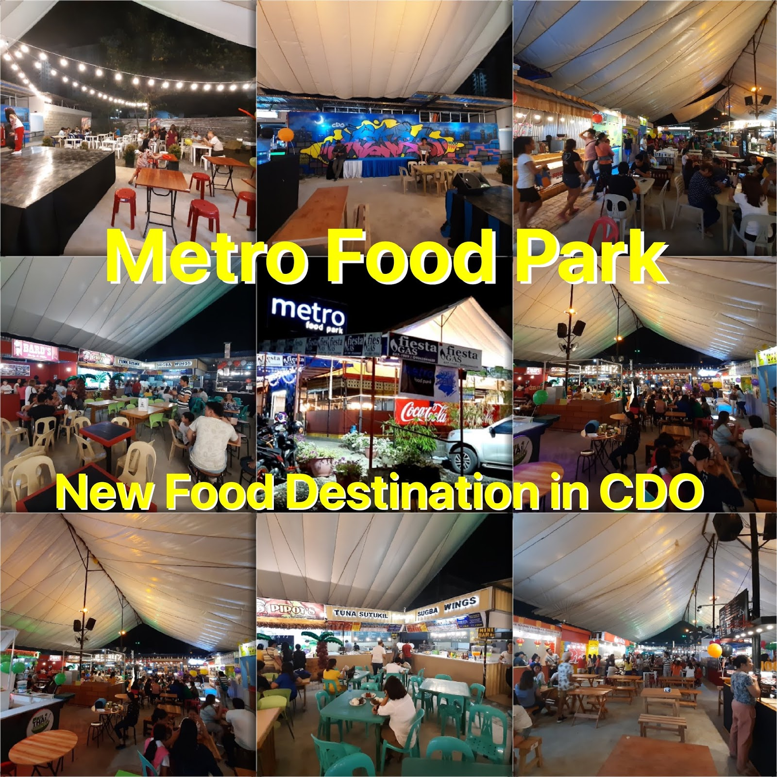 CDO Metro Food Park: Newest Food Destination of Kagay-anons