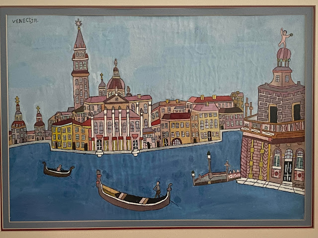 A Painting of Venice by Emerick Fejes