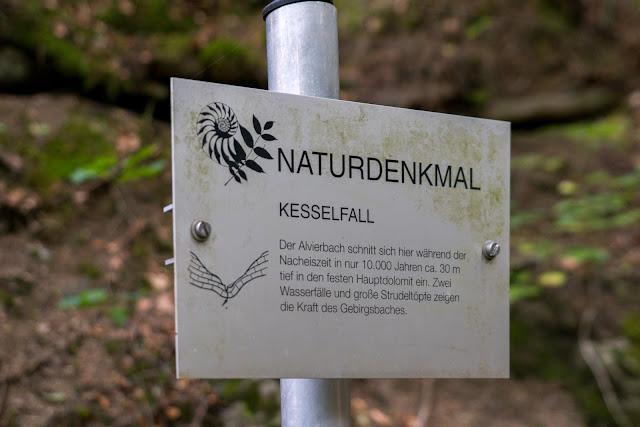 Regenwandern im Brandnertal Bürserberg Furkla Höhenweg + Kesselfall | Wandern Vorarlberg 09