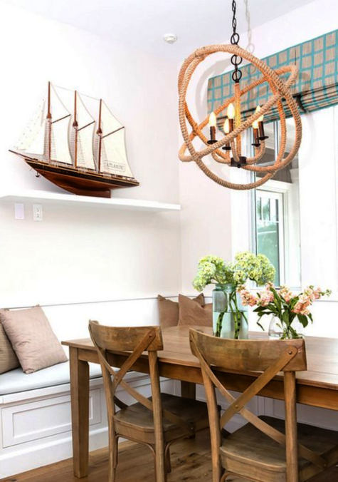 Rope Ceiling Hanging Lights