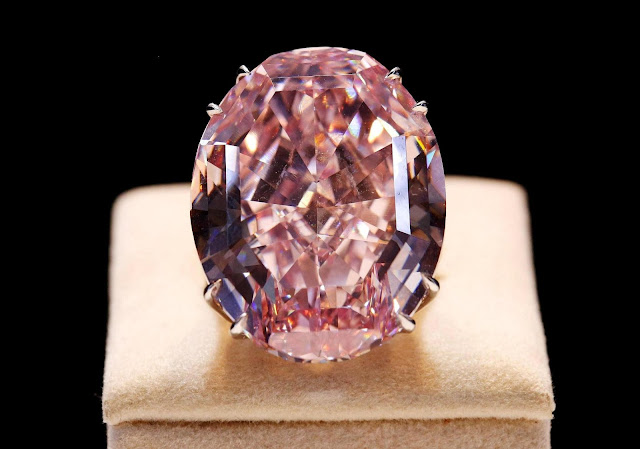 'Pink Star' Diamond: the World's Most Expensive Gem