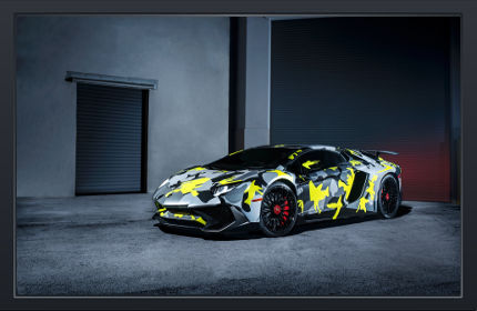 Lamborghini Aventador LP 750 4 SV - Fond d'Écran en Full HD
