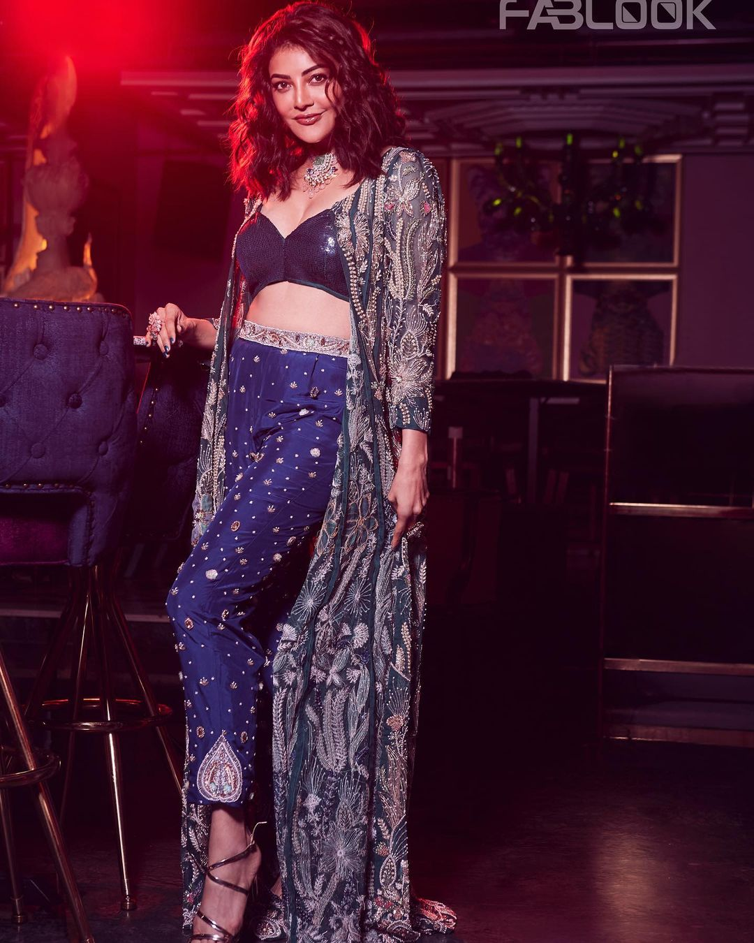 Actress Kajal Agarwal Mesmerising Photos From Fablook Magazine