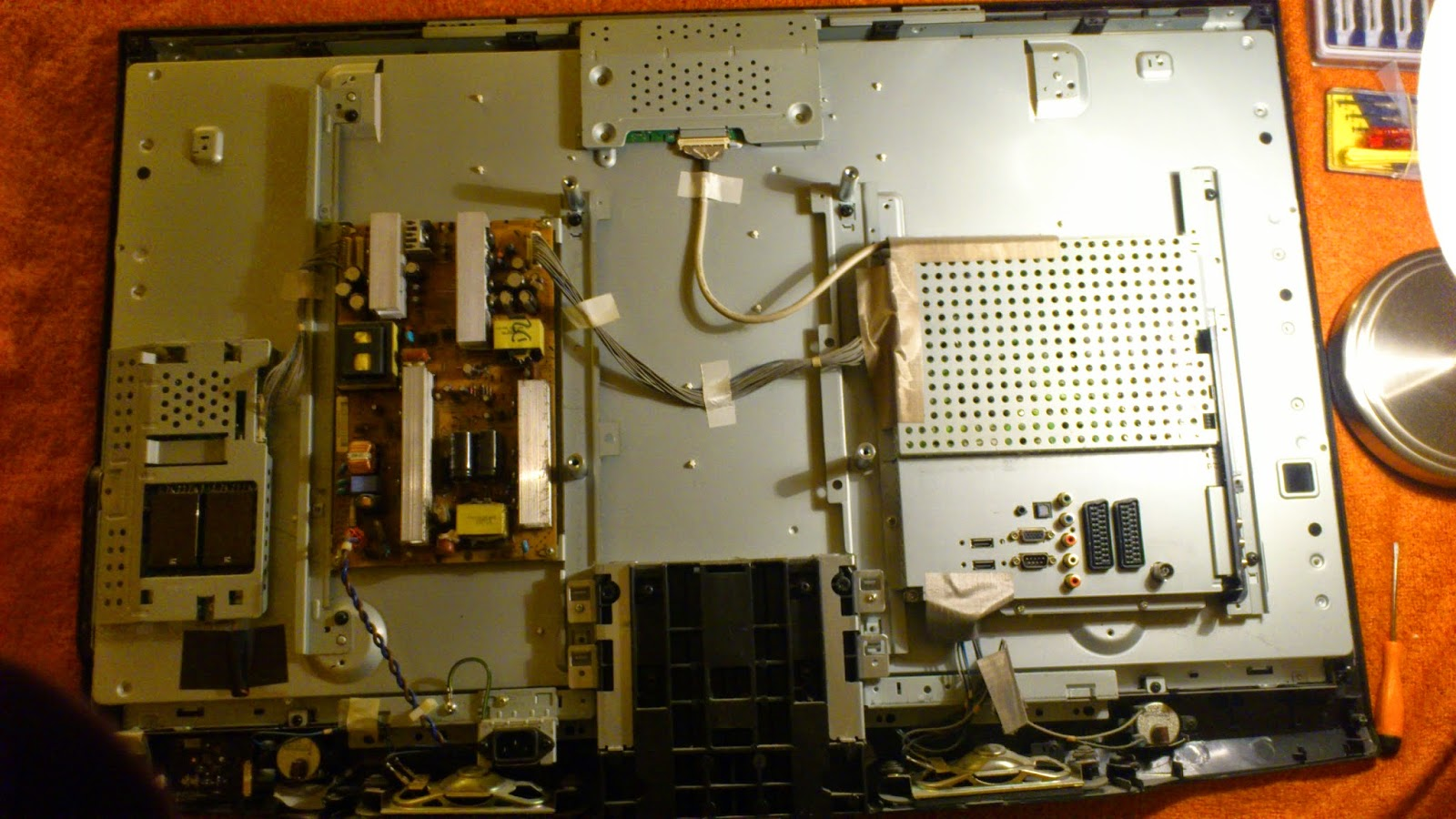 Repair TV LG Plasma Screen no Power