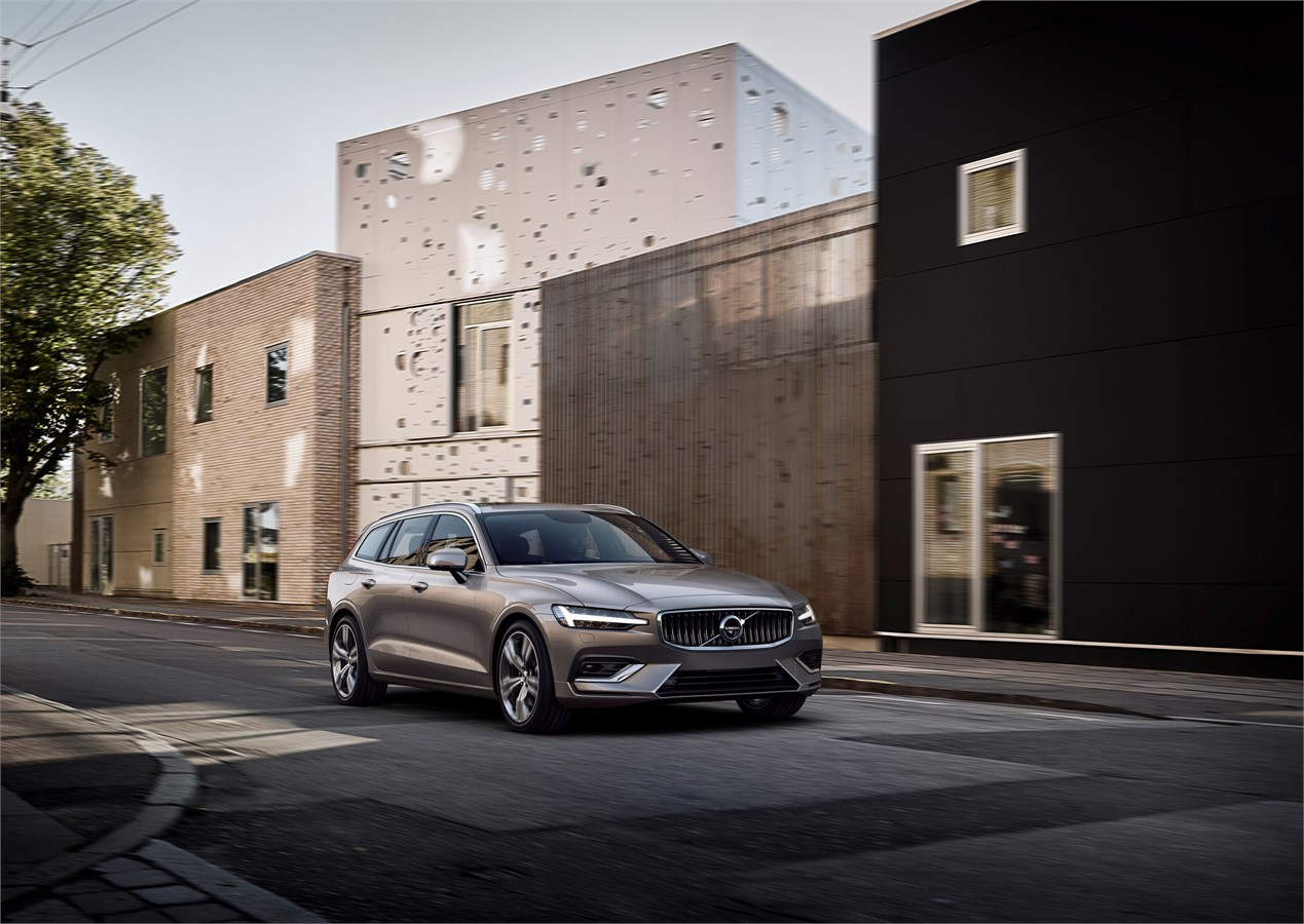 Volvo launches new V60 versatile family estate - Latest Technology
