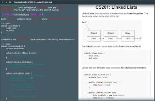 Permudah Menulis Markdown Di GNU/Linux Menggunakan Remarkable