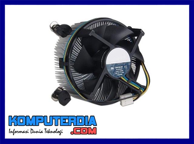 Pengertian Heatsink Fan, fungsi heatsink dan cara kerja heatsink