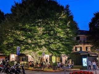 A night scene at La Marianna in Colle Aperto.