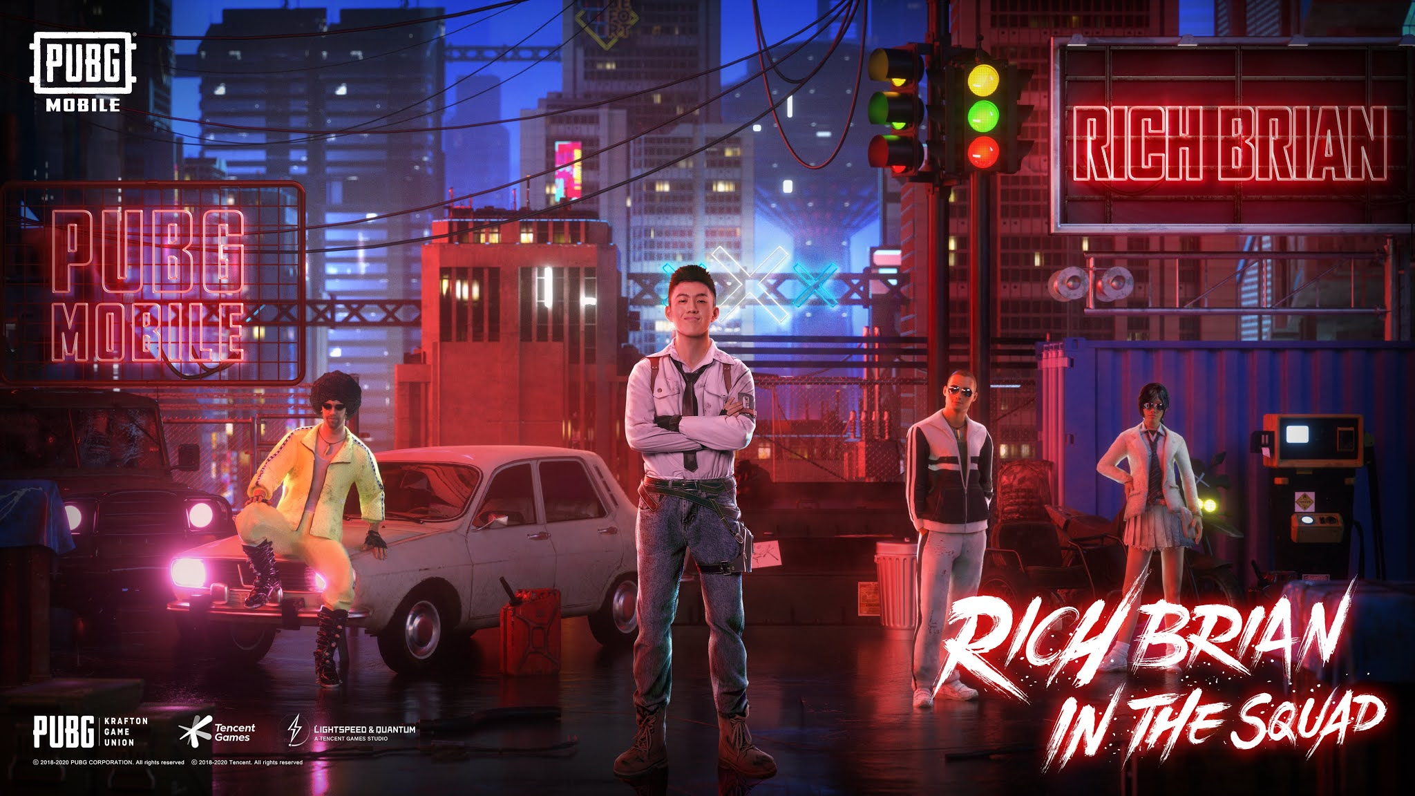 PUBG MOBILE Announce an Exclusive Collaboration with Rich Brian