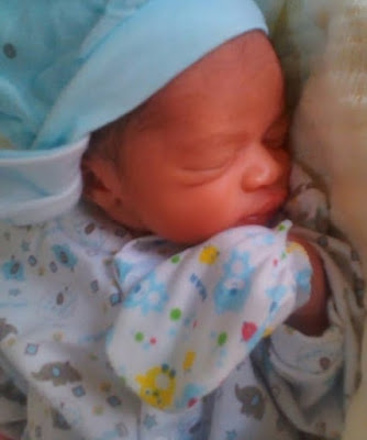 opeyemi aiyeola delivers baby boy