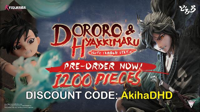 Abiertos los Pre-orders de DORORO ELITE FANDOM STATUE de Figurama Collectors - PROMO CODE: AkihaDHD