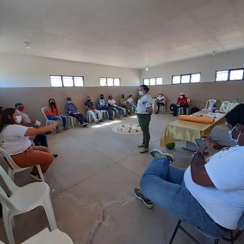 Arribaçã promoveu oficina com membros da ACEPAC