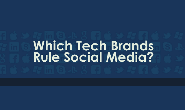 Which Tech Brands Rule Social Media?