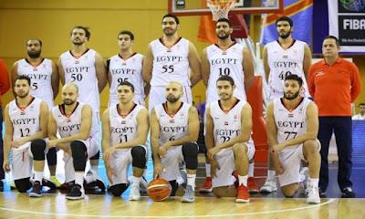 منتخب مصر في كرة السلة.