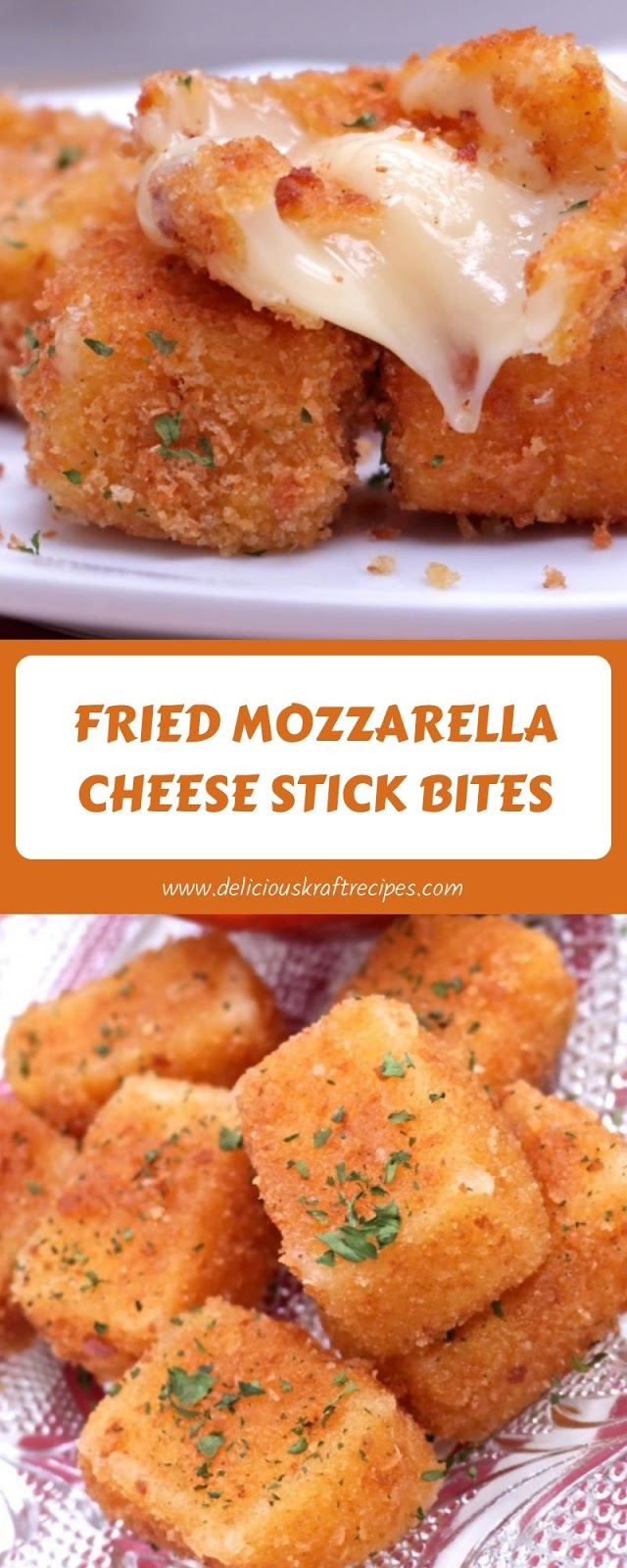 FRIED MOZZARELLA CHEESE STICK BITES