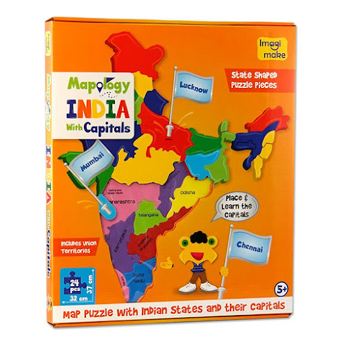 Crafteria bangalore mapology india with capitals childrens activity kits bangalore kids activity kits online bangalore solutioingenieria Gallery