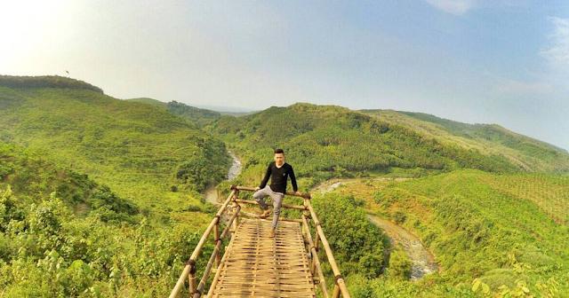 Wisata Batang | Wisata Alam Jembatan Buntu Desa Sengon Subah