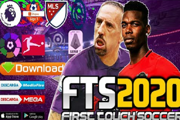 Download FTS 20 Mod EUROPA EPL + MLS New Kits 2020
