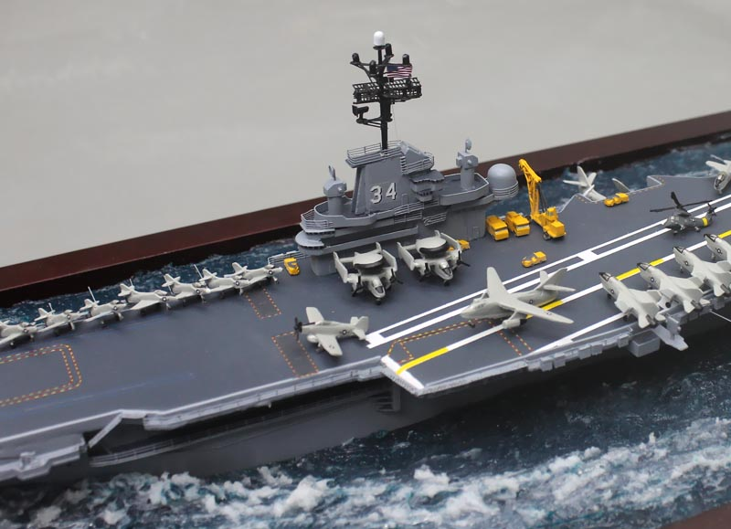 Aircraft Carrier Model Diorama 1/700 Scale USS Oriskany ...
