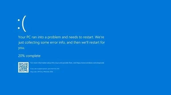 كيف يكسر تحديث Windows 10 1903 Chromium Bsod