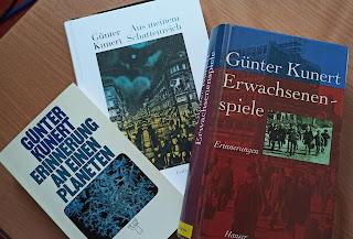 drei Bücher von Günter Kunert