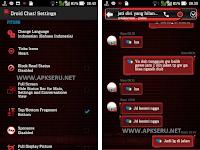 BBM Mod Droidchat Red Theme V2.13.1.13 APK + BBM2