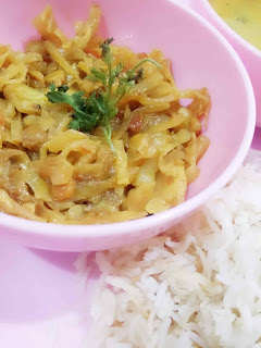 Cabbage Chana Sabzi